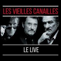 Cover Jacques Dutronc / Johnny Hallyday / Eddy Mitchell - Les vieilles canailles - Le live [DVD]